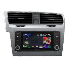 Pioneer AVIC-EVO1-G72-DMD NAVGATE EVO voor VW Golf 7 (Brushed Stainless Steel)